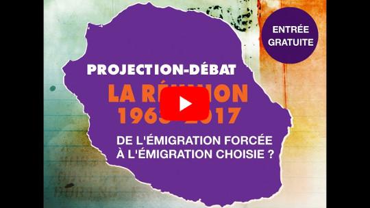 [VIDÉO] conférence du 02/12/2017 : La Réunion 1963-2017 : de l'émigration forcée à l'émigration choisie ?