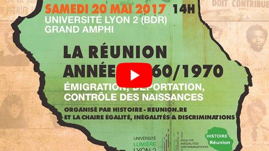[VIDEO] La Réunion des années 1960-1970 : émigration, déportation et contrôle des naissances